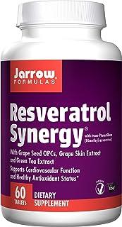 Jarrow Formulas Resveratrol Synergy, 60 Tablets