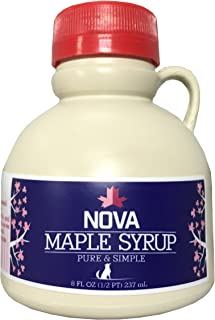 Nova Maple Syrup - Pure Grade-A Maple Syrup (Half Pint)