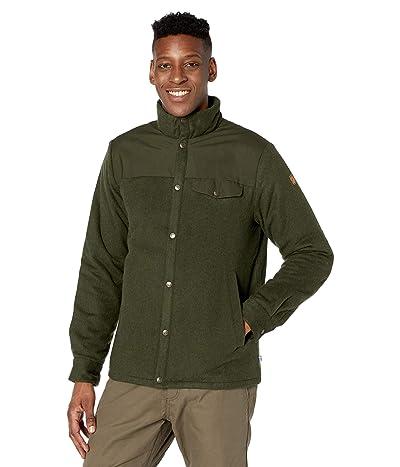 Fjallraven Canada Wool Padded Jacket (Deep Forest) Men