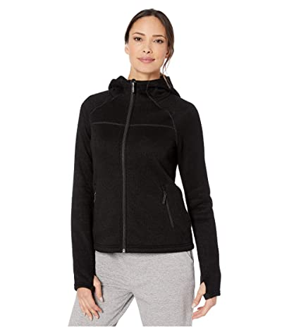 Smartwool Hudson Trail Full Zip Fleece Sweater (Black) Women