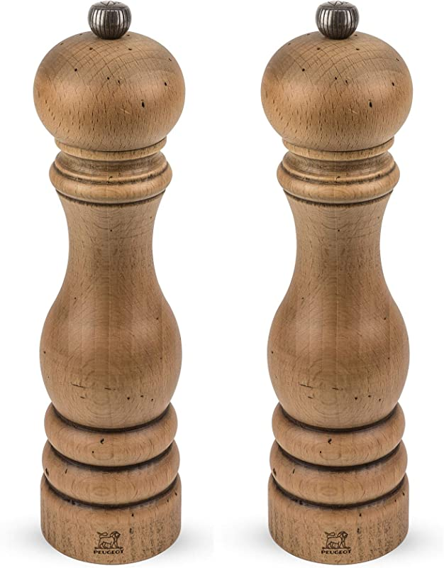 Peugeot Paris Classic Collection Antique 8 3 4 In Pepper And Salt Mill Set