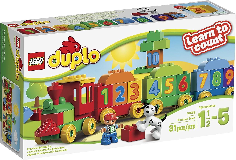 LEGO DUPLO Zug-Nummer 10558 2 +