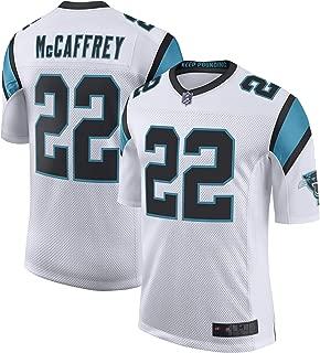 SF21 Custom Jersey Men's #22 McCaffrey Panthers Christian White Limited Player Jersey Sportswear T-Shirt