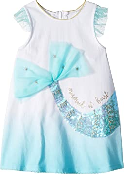 Mermaid Flutter Sleeve Tunic (Infant/Toddler)