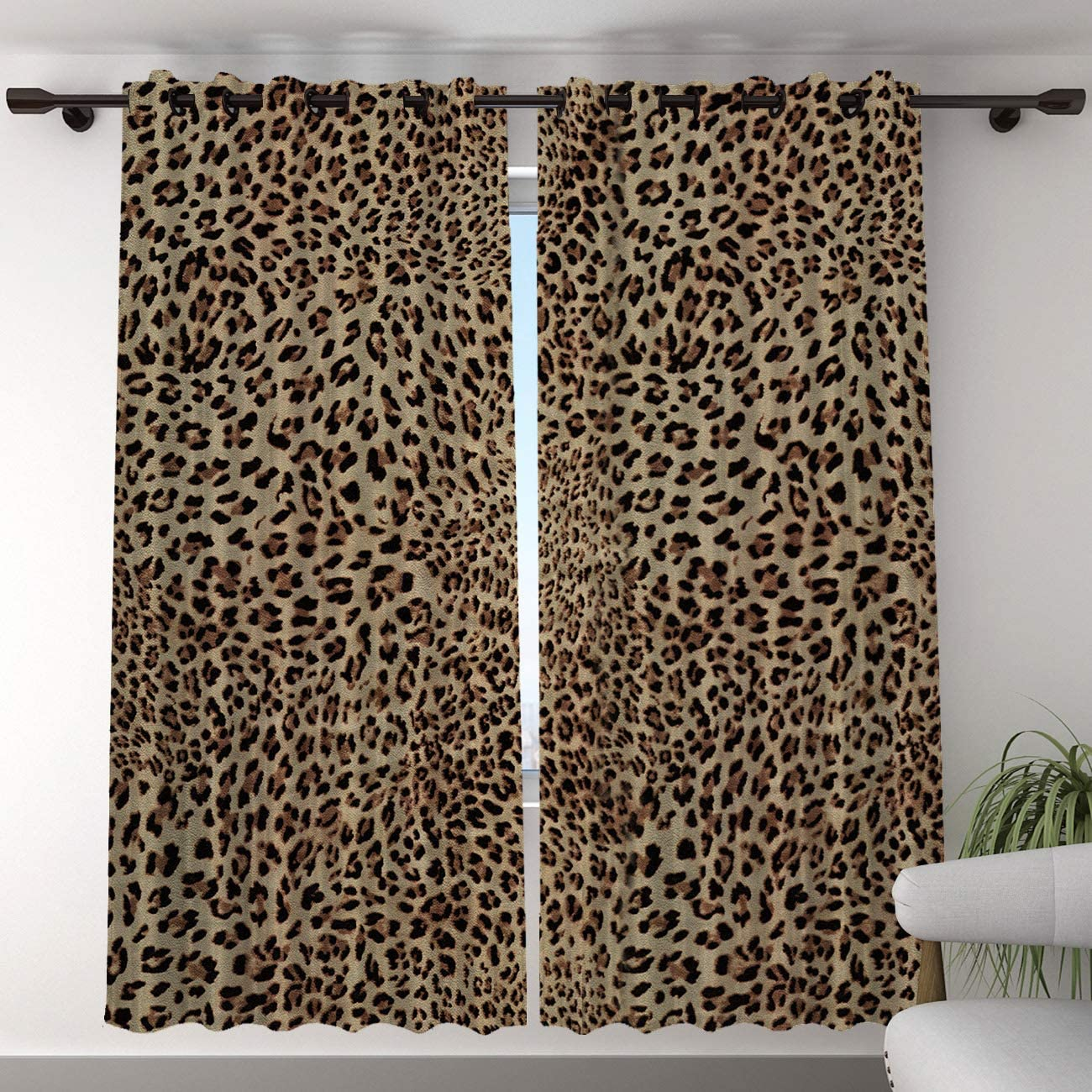 TH Max 66% Discount is also underway OFF Home Blackout Curtain for Bedroom D - Darkening Long inch 96