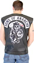 TV Store SOA Sons of Anarchy Black Leather Highway Biker Vest