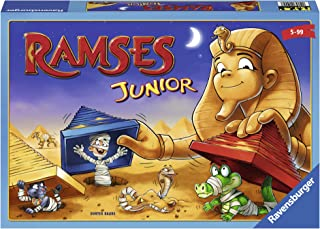 Ravensburger 4005556214457 Ram Company Memory, Deduction, Junior, Child, Pyramid, Pharaoh, Treasures, Sphynx, Sphinx, Mummy, Hidden Finding, Challenging, Animals, Scorpio, Tornado Family Game