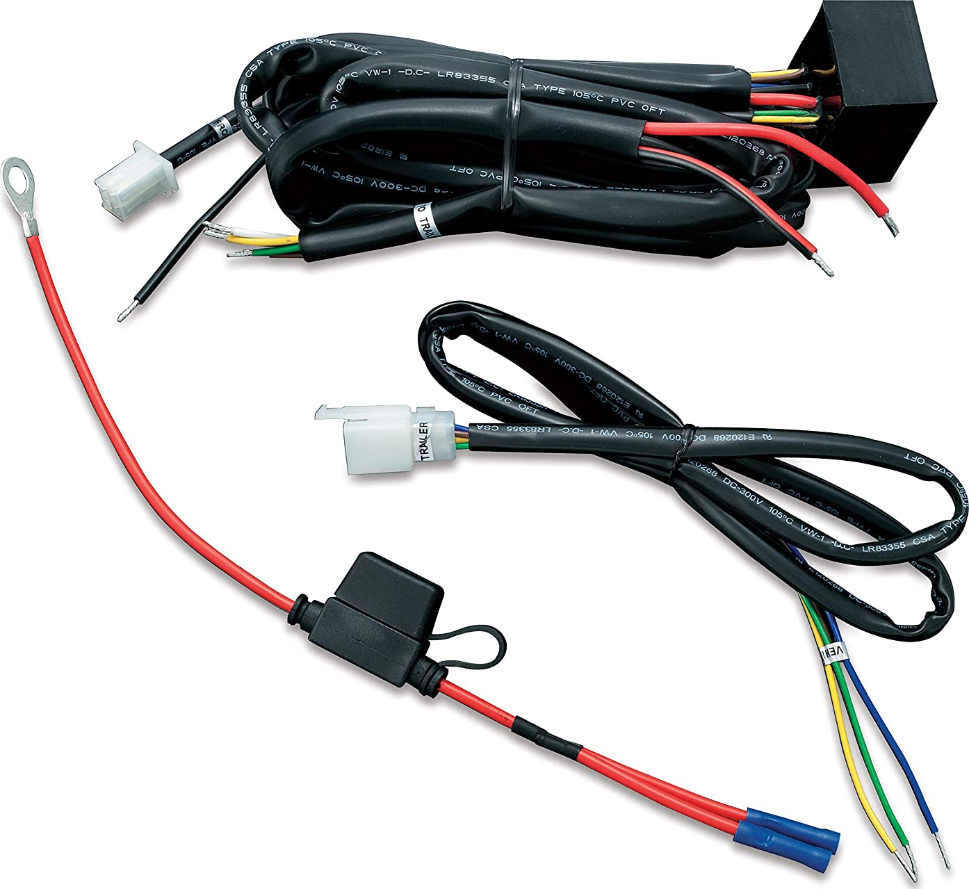 Kuryakyn 7671 Motorcycle Accessory: Universal Trailer Wiring with Relay Harness for 12V Applications