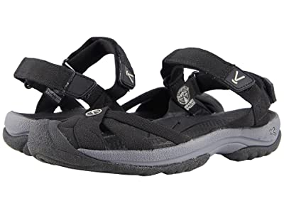 Keen Bali Strap (Black/Steel Grey) Women