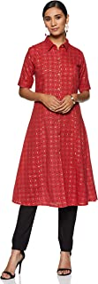 Indi lite Women's cotton princess cut Salwar Suit Set