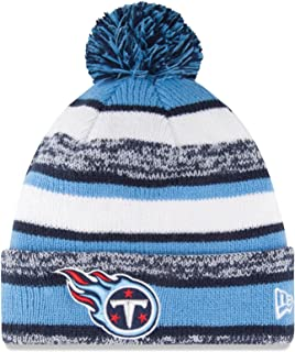 New Era Tennessee Titans Beanie Sideline Cuffed Knit Hat