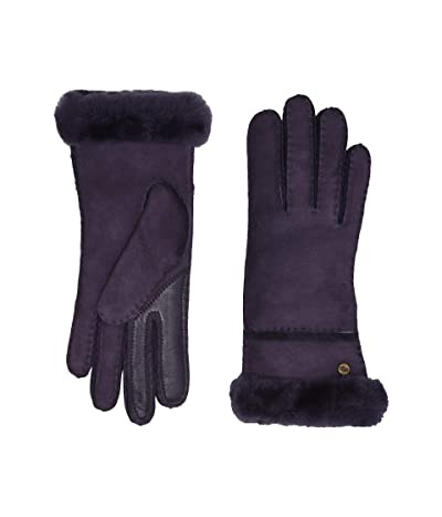 UGG Seamed Tech Water Resistant Sheepskin Gloves (Nightshade) Extreme Cold Weather Gloves