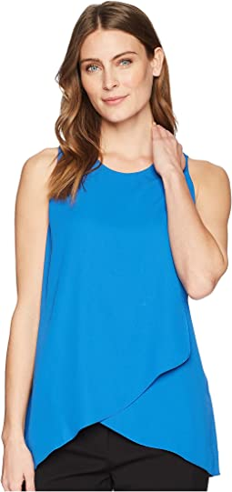 Asymmetric Side-Drape Top