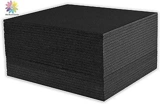 Mat Board Center, Pack of 25 Foam Core Backing Boards 3/16