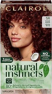Clairol Natural Instincts Semi-Permanent, 5R Medium Auburn, Cinnaberry, 1 Count