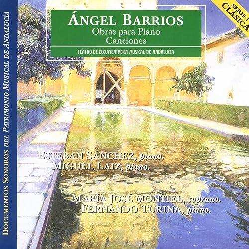 Amazon.com: Angel Barrios: Piano Works / Songs: Esteban ...