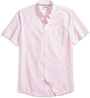 Goodthreads Men's Standard-Fit Short-Sleeve Solid Oxford...