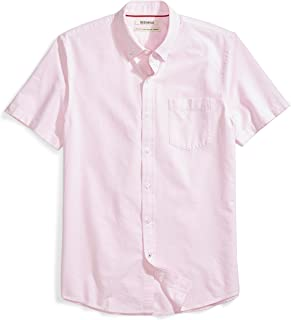 oxford cloth button down short sleeve shirts