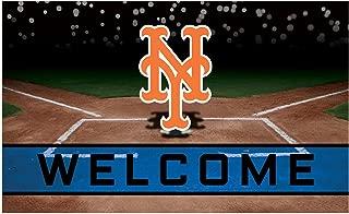 FANMATS 21926 Team Color Crumb Rubber New York Mets Door Mat