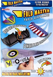 Kangaroo's Paper Airplane Kit; 72 Paper Airplanes