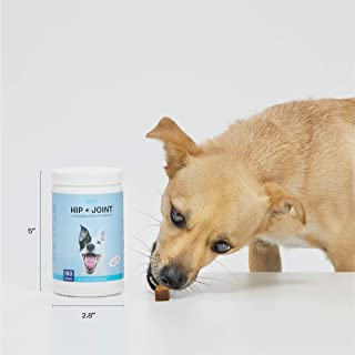BarkBox Veterinarian-Formulated Dog Glucosamine Supplement for Hip & Joints - Made in The USA - with MSM & Chondroitin - 150 Chews/Treats