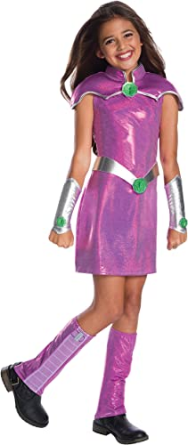 tienda de venta DC Superhero Girls Girls Girls Deluxe Starfire Girls Fancy Dress Costume Large  oferta especial