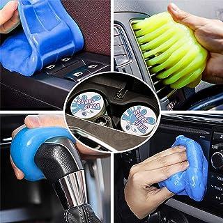 TBoonor Auto Reinigungsgel für den Innenraum 2 stück, Universal Staubreiniger für Autoreinigung, Weicher Flexibler und umweltfreundlichem, Tastatur Reiniger für Laptop Drucker Kamera (320g)