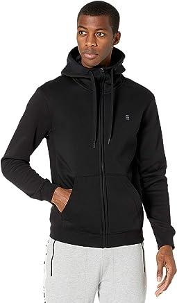 Premium Basic Hooded Zip Sweater