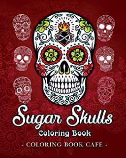 dog sugar skull coloring book