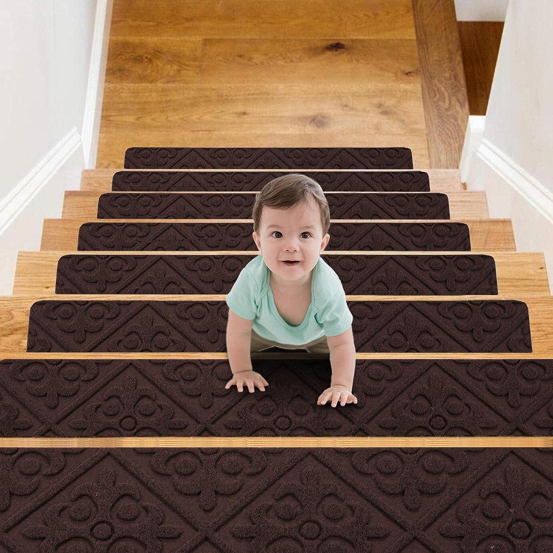 Lamberia Stair Treads Carpet Non-Slip 8