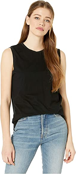 f215bd0647ed8d Ag adriano goldschmied fae ruffle tank top | Shipped Free at Zappos