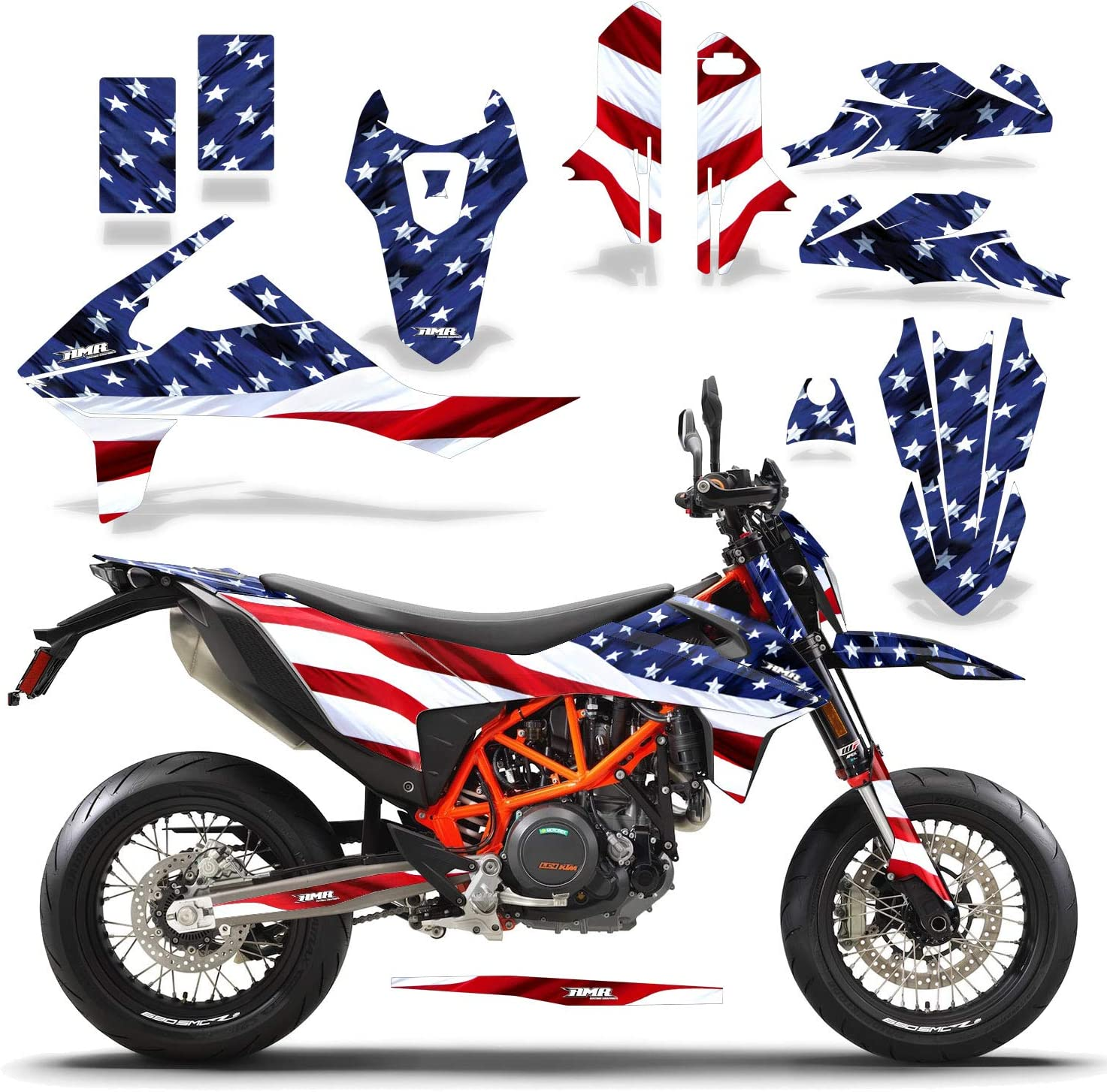 AMR Max 72% OFF Racing MX Dirt Bike Graphics Number kit Cheap super special price Decal Pl and Sticker