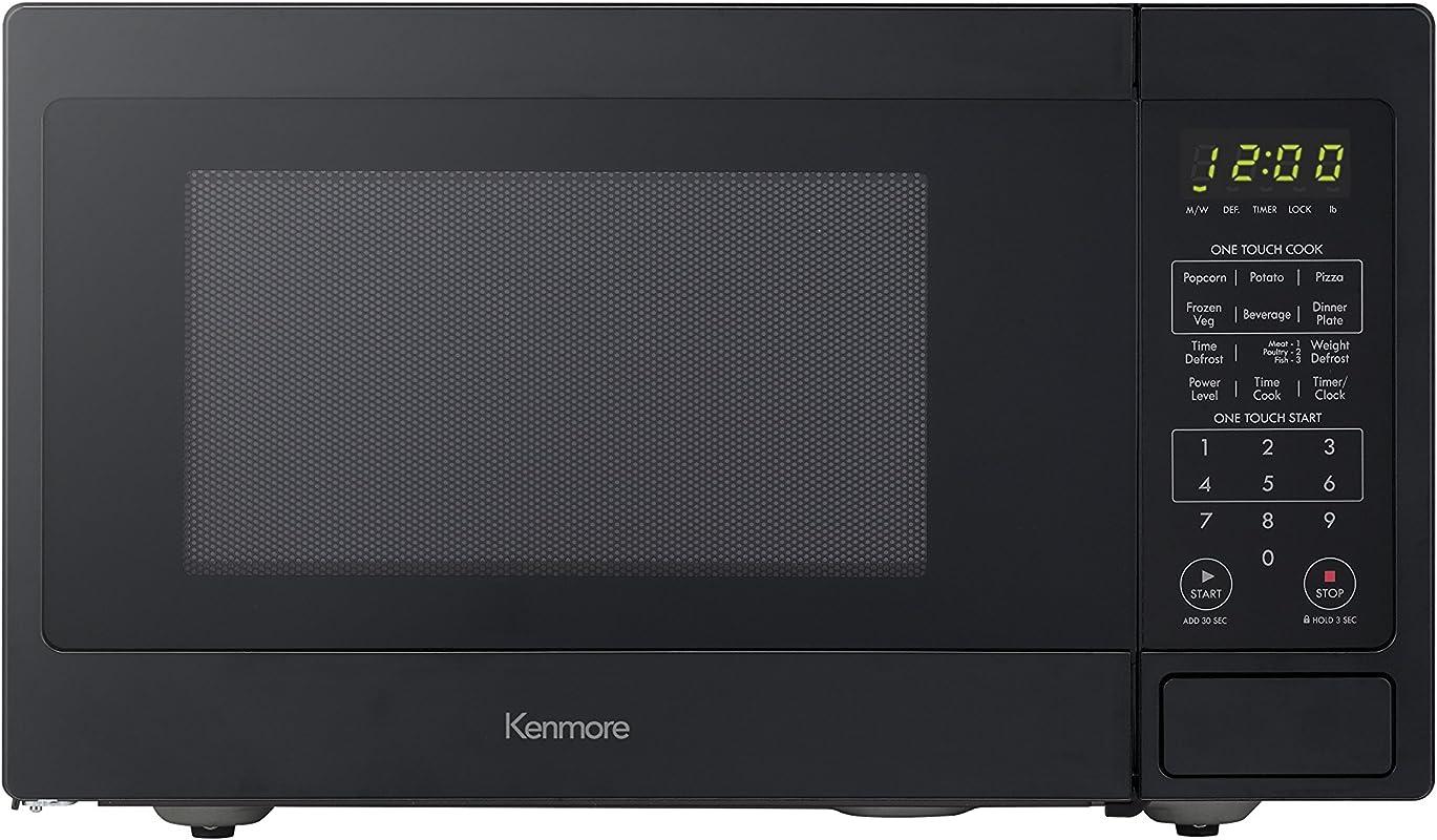 Kenmore 70919 Countertop Microwave 0 9 Cu Ft Black