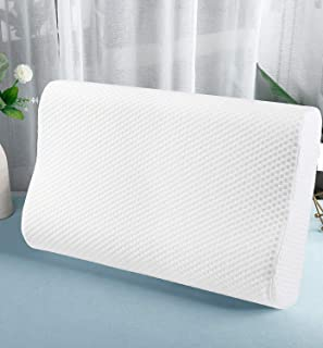 Proliva Memory Foam Pillow,Cervical Pillow for Neck Pain,Orthopedic Contour Pillow Support for Back,Stomach,Side Sleepers,...