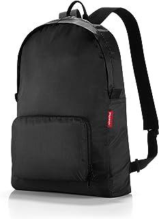 reisenthel mini maxi rucksack black Maße: 30 x 45 x 11 cm/ Volumen: 14 l / waschbar bei 30 °C