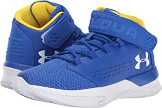 (アンダーアーマー) UNDER ARMOUR キッズバスケットボールシューズ?靴 UA BGS Get B Zee Basketball (Big Kid) Team Royal/White/White 6 Big Kid (25cm) M