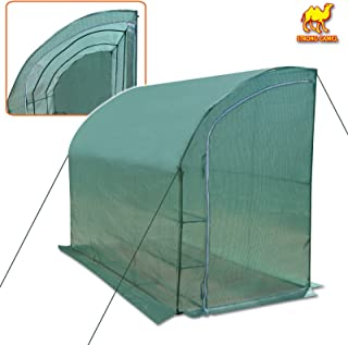 Strong Camel New Large Walk-in Wall Greenhouse 10x5x7'H w 3 Tiers/6 Shelves Gardening (Green)