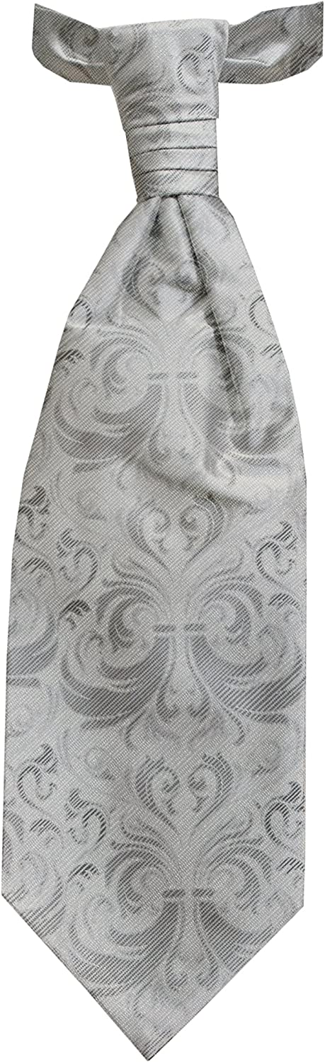 Remo Sartori Made in Daily bargain sale Italy Luxury Outlet ☆ Free Shipping Men's Asco Wedding Grey Cravat