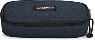 Eastpak Oval Single Astuccio, 22 Cm, Blu (Triple Denim)