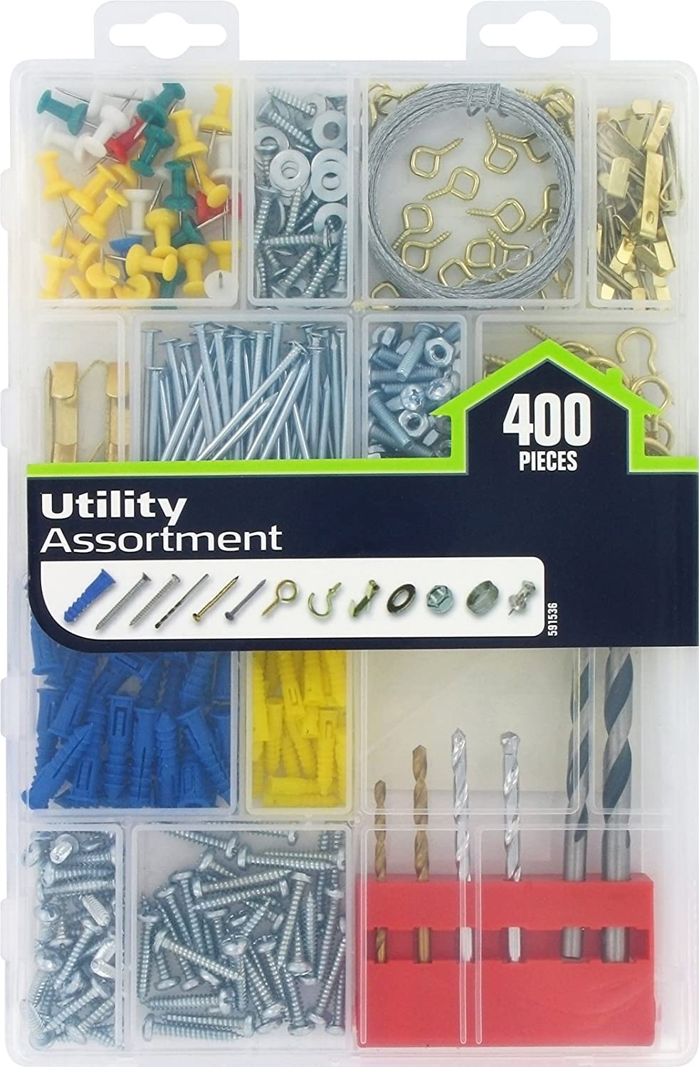 Sales of SALE items from new works The Hillman Group Attention brand 591536 400-Pack Utility Large Assortment
