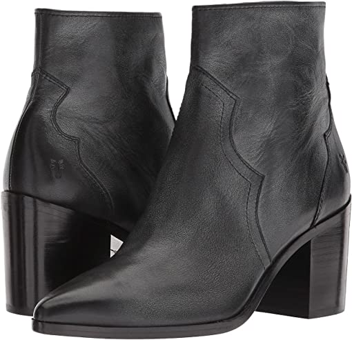 Black Polished Soft Full Grain Leather
