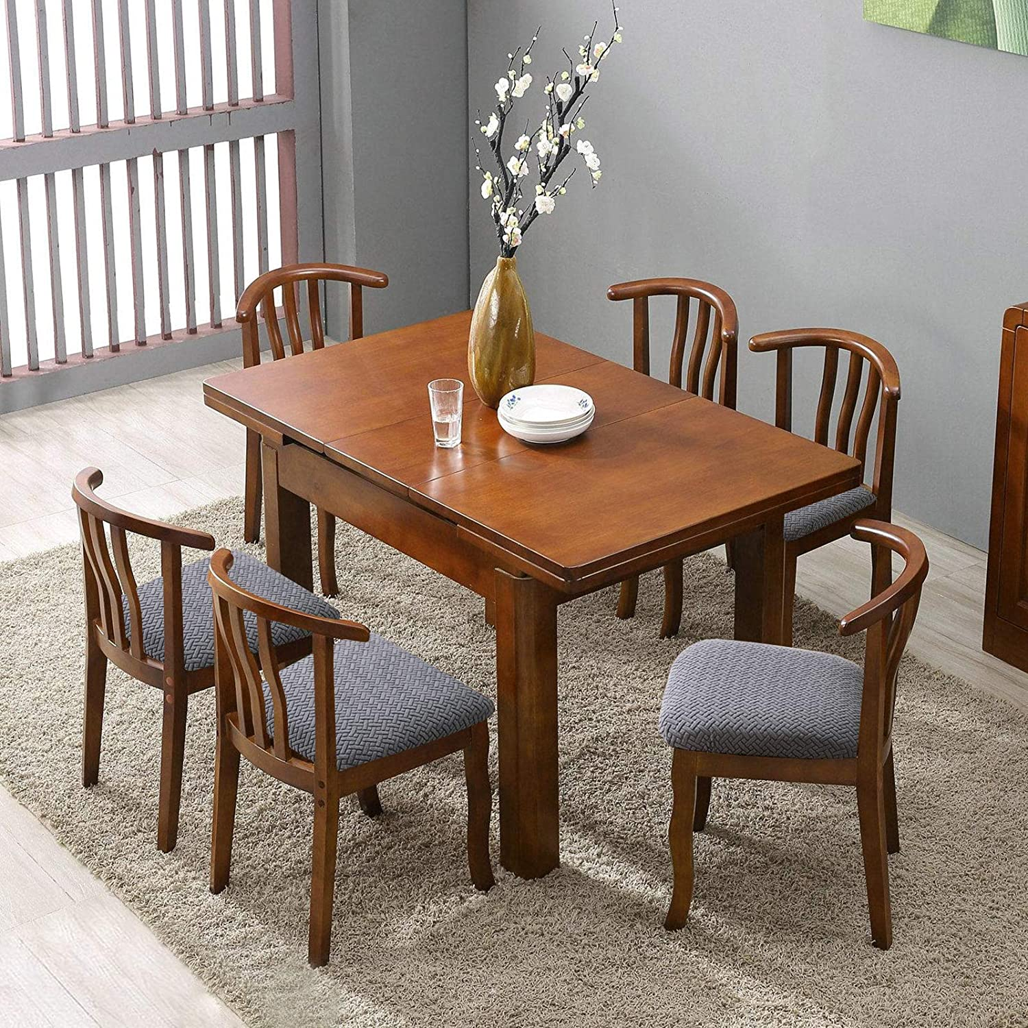 Buy Genina Seat Covers for Dining Room Chair Seat Slipcovers ...