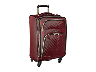 Kenneth Cole Reaction Chelsea 20 Quilted Expandable 4-Wheel Upright Carry On (Burgundy) Luggage