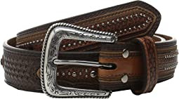 Basketweave Star Concho Belt