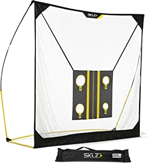 SKLZ Quickster Golf Net (8x8ft, 6x6ft) with Chipping Target and Carry Bag, Ultra Portable Driving Range with Quick Assembly, Perfect Your Swing, Improve Your Aim, Develop Your Hand-Eye Coordination