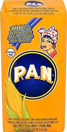 Harina P.A.N Pan Pre-Cooked Yellow Corn Meal, 35 oz