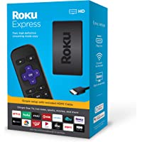 Roku Express HD Streaming Media Player 2019 (3930R)