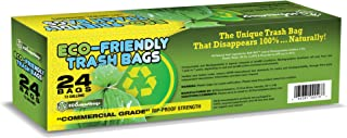 Eco-Smartbags Biodegradable Trash Bags, 13-Gallon, 24-Count Boxes (Pack of 6)