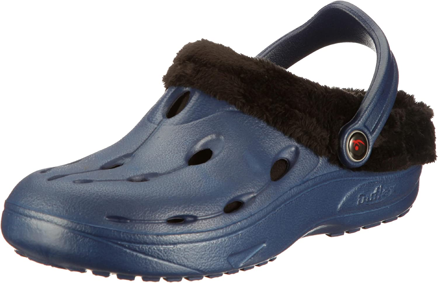 Chung -Shi Dux Heel-comforting, Resilient, Toxin-Free Clog with Warm Lining
