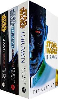 Star Wars: Thrawn Series Books 1 - 3 Collection Set by Timothy Zahn (Thrawn, Alliances & Treason)